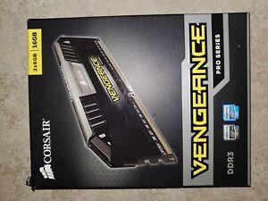CORSAIR Vengeance PRO 16GB (2x8GB) Silver DDR3 15000 ✅CL9 1866 CMY16GX3M2A1866C9