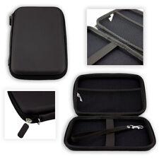 caseroxx GPS-Case voor SNOOPER Truckmate S8110 in black gemaakt van faux leather