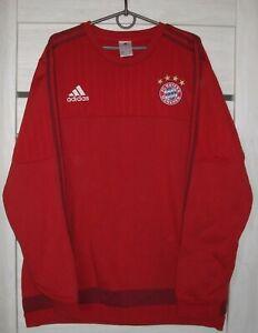 Bayern Munich Football Soccer Jacket Adidas Size XL