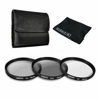 58MM UV CPL ND 4 Filter Kit for Canon Rebel T6i T5i T5 T4i T3i SL1