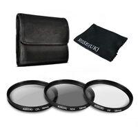 58MM UV CPL ND 4 Filter Kit for Canon Rebel T6i T5i T5 T4i T3i SL1