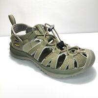 Keen Whisper Women's Size 8 Waterproof Sport Sandal Green & Gray