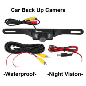 Rear View Car Back Up Camera License Plate For Pioneer Stereo Proof Night Vision