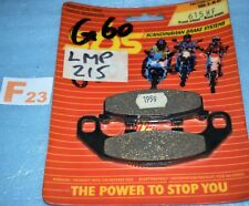 2 plaquettes de frein SBS Kawasaki GPX GPZ 250 400 R KR1 250 ZEPHYR 550 750