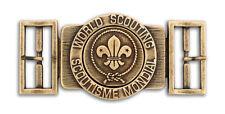 World Scout Belt Buckle Antique Bronze Colour Finish