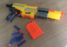 Nerf N-strike Alpha Trooper barrel pump-action blaster 6 darts Dart Magazine Gun