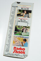 Vintage Radio Shack Guide to CB 10 Codes,CB Slang,Realistic,Tandy,1970s Die Cut