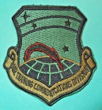 Military Usaf Air Trng Communications Div Patch Full Color Insignia Unit #799