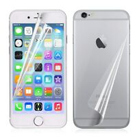LCD Clear Front + Back Screen Protector Film Guard Skin Cover for iPhone 6 4.7""