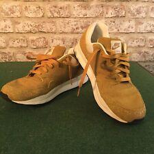 Nike Vintage Safari Trainers Sneakers Size 8 Rare Yellow Worn 90% Good