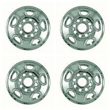 "New Wheel Skins Covers Fits Chevrolet Silverado / GMC Sierra 16"" Chrome Set Of 4"
