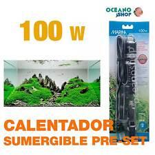 Calentador Sumergible Pre-set Marina 100w  alta calidad acuario gambario pecera