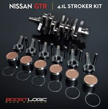 Boost Logic 4.1L Stroker Kit FIT Nissan SKYLINE R35 GTR 09-2016 VR38DETT