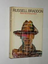 Russell Braddon When The Enemy Is Tired. HB/DJ 1st Edition 1968.