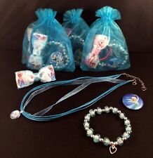CHILDREN'S DISNEY FROZEN THEMED ORGANZA PARTY/BAG/GIFT/LOOT/STOCKING FILLER