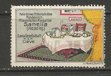 Germany/Cleve/Kleve SANELLA Margarine advertising stamp/label