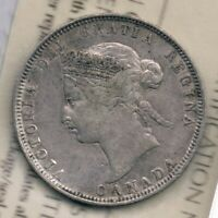 Victoria 25 cents, 1872.  ICCS VF-20:  Obv 2 Narrow Date Large 8 Large 2 L2