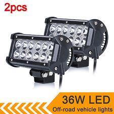 2Pcs 36W 12V Car LED Spot Lights Spotlight 4x4 fit Van ATV Offroad SUV Truck UK
