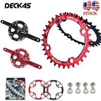DECKAS 104bcd MTB Road Bike Narrow Wide Chainring Guard Chainwheel 32/34/36/38T