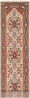 """Hand-knotted  Carpet 2'7"""" x 11'5"""" Serapi Heritage Traditional Wool Rug"""