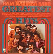 JULIUS WECHTER AND THE BAJA MARIMBA BAND GREATEST HITS LP 1970 NICE CONDITION!