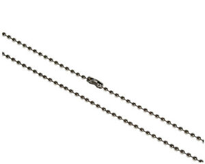 5off Steel Ball Neck Chain for ID Card Holder Lanyard Neck Strap- FREE DELIVERY