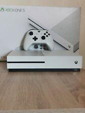 Microsoft Xbox One S 1TB White Used in original box