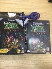 Legend of Zelda: Four Swords Adventures (Nintendo GameCube, 2004) W/ BOX *READ*
