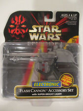 Hasbro Star Wars Episode I Red Flash Cannon Accessory Set New on Card