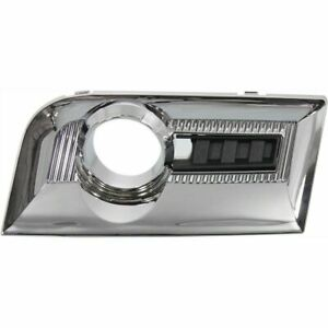for 2010 2011 2012 2013 2014 2015 GMC Terrain Right RH Fog Lamp Bezel Chrome