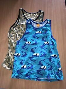 enjoi & lrg brand tank tops singlet both are mens size large