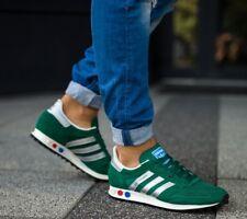 BNWB & Genuine Adidas Originals ® Trainer OG Verde LA Retrò Sneaker UK 7