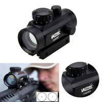 Holographic Reflex Tactical Green Red Dot Sight Illuminated Scope Mount Hunting