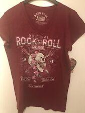 Hard Rock Cafe HRC BALTIMORE Shirt T-Shirt Women's Damen Girly Small S