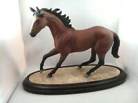 Vintage Lenox Champion Of The Wind International Horse Sculptures Figurine
