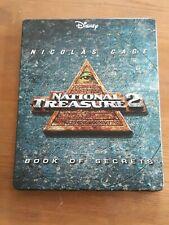 NATIONAL TREASURE 2 BLU RAY STEELBOOK - RARE AND OOP DISNEY - NICOLAS CAGE