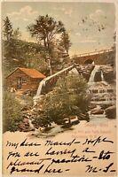 Catskill Mountains NY Shady Glen Wood Turning Mill & Falls Cairo NY Greene Cnty