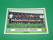 PANINI EURO FOOTBALL 78 N°219 UNIVERSITATEA CRAIOVA ROUMANIE ROMANIA 1977-1978