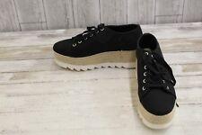 Steve Madden Kraze Canvas Platform Sneakers, Women's Size 10M, Black