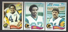 1982 Topps Los Angeles Rams Team Set 21 Cards From VENDING Youngblood