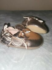 H&M Disney Minnie Mouse Baby Girl Crib Ballet Moccasins