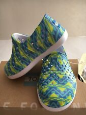 Tiny Toms Romper Green Multicolor Baby Toddler Slip-on shoes US Size 5