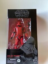 "2019 Hasbro Star Wars The Black Series Sith Jet Trooper #106 6"" Action Figure"