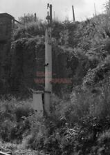PHOTO  VIEW OF THE SIREN FIXED TO A FORMER RHYMNEY RAILWAY SIGNAL POST AT CYLLA.