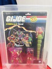 Vintage GI Joe Cobra-La Team Golobulus Nemesis Enforcer Royal Guard AFA 80 MOC