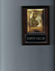 MARVIN HAGLER PLAQUE BOXING