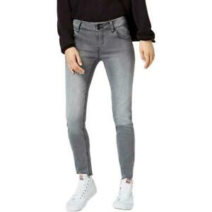 Hudson Women's Jeans Gray Size 29 Skinny Stretch Midrise Ankle Natalie $195 #462