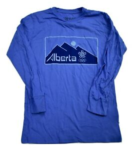 Olympic Museum Collection Mens Alberta Calgary 1988 Winter Games Shirt New S-2XL