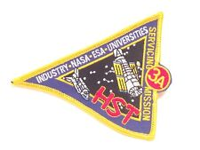 "NASA Space Program HST-3A HUBBLE SPACE TELESCOPE Servicing 4"" Mission Patch"