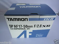 NEW TAMRON SP AF 17-50mm F/2.8 XR Di II LD Aspherical [IF] A16 Lens for Pentax K
